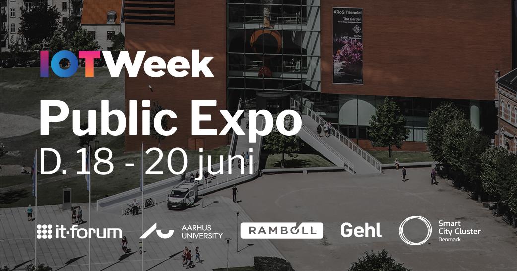 e348be4b IoT Week Aarhus 2019 - Public Expo